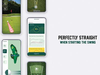 UI Freelancer - GOLF Mobile App Design Project players ground club golf