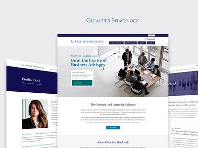 Hire Freelance Website UX Designer India   Gleacher Shacklock internship