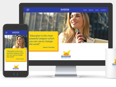 UI Freelancer design Web application for QUIZDOM quizdom subjects module learning quiz assessments