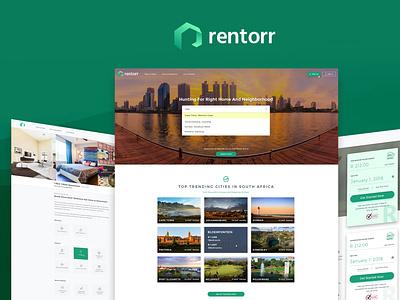 UI Freelancer Design Rentorr Product paid rent