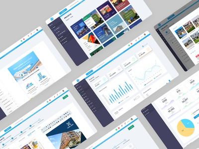 UI UX Freelance Designer   AMELIO Product Design Project branding logo graphic design real estate agents