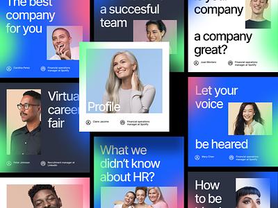 Podcast Exercise blue hopin marketing photo socialmedia typography podcast social media social mobile app latin design minimal startup graphic ui branding