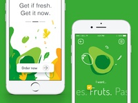 Organic delivery app
