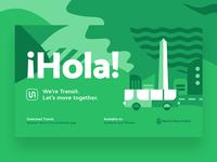 Transit app Buenos Aires ad