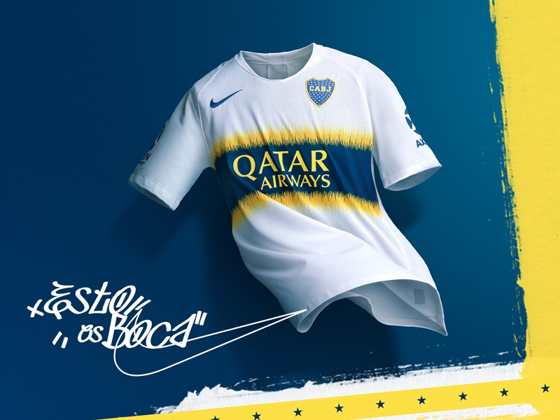 official photos c0d64 2f325 Nike's Boca Juniors 2018's identity by André Pires on Dribbble
