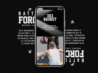 Nike Air Force 1 — Battle Force web