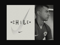 Nike Chile 2018 Soccer identity
