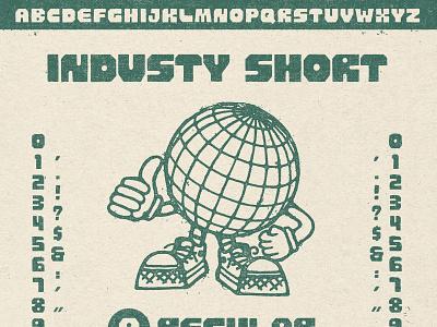 INDUSTY Font Family typography hand lettering illustraion digital digital goods goods lettering industrial typeface font family custome typeface custom font