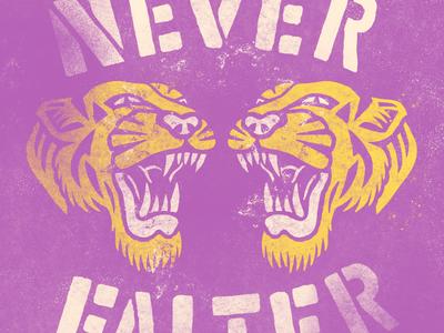 Never Falter