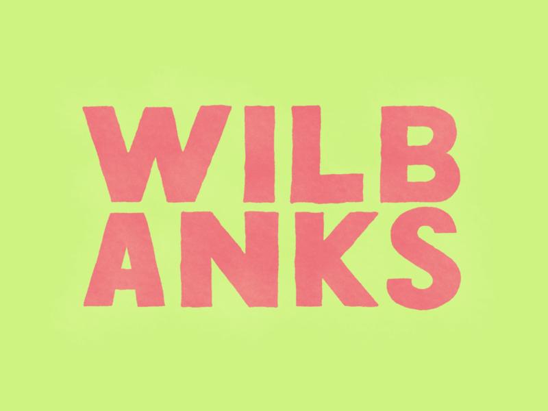 WILBANKS folkart vintage icon branding design logo vector hand lettering brand and identity typography illustration hand drawn