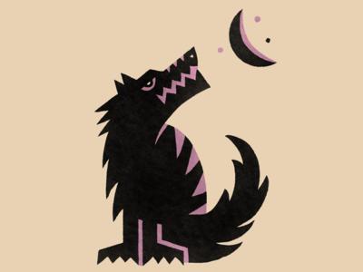 A wolf boi