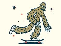 Skate Wookiee