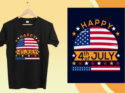 4th of July T shirt Design memorial day independence day fourth of july design tshirt typography vector illustration vector design print on demand 4th july t shirt t shirt design t shirt eps png svg 4th of july t shirt designs