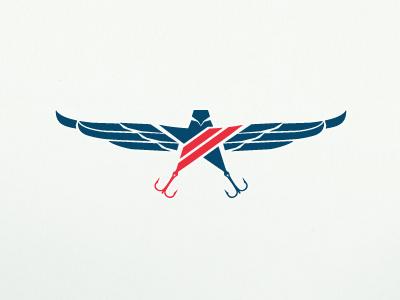 """Tave A Vet Fishing"" logo mark logo brand identity"