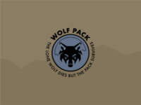 Wolf Pack team badge