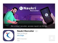 Much awaited Naukri Recruiter iOS app is live now.