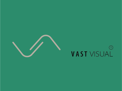 vast visual logo icon typography logos branding minimalism inspiration branding design adobe ilustrator unique logo