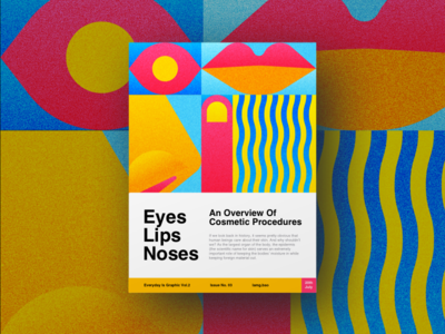 Eyes Lips Noses interface mobile design web design art abstract color layout gradient typography graphic design poster design