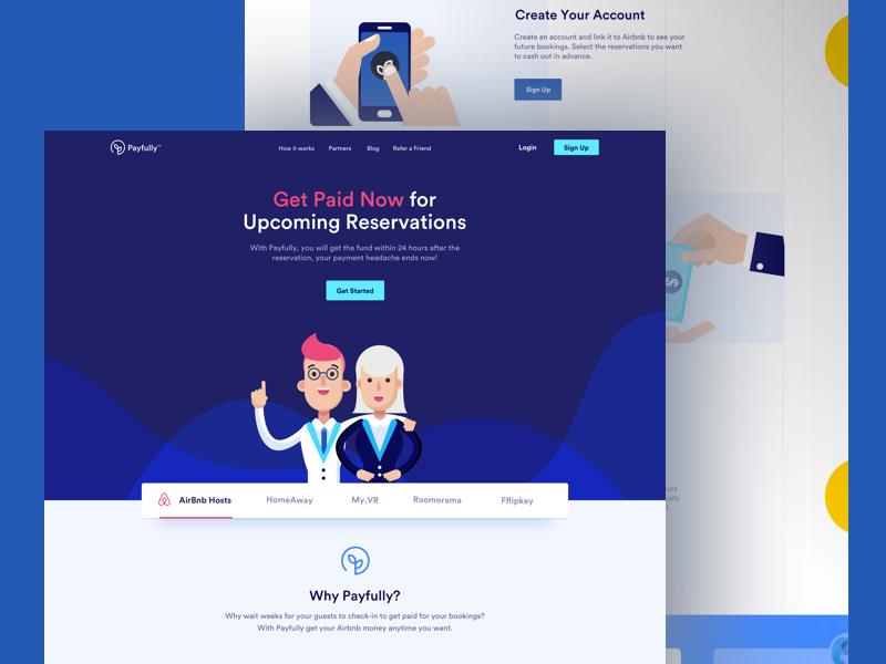 Payfully - Landing Page