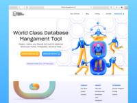 Database Management Landing Page