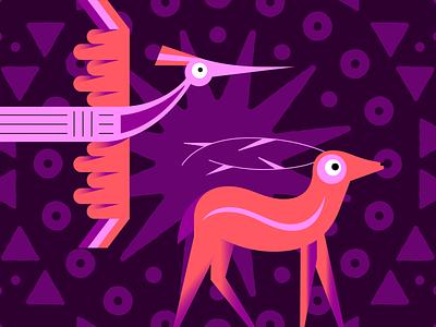 Spirit Animals character mobile design branding logo ui color vector art design character design web design illustration uiux