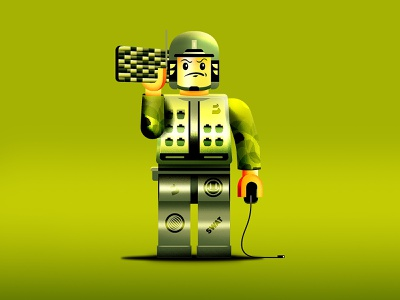 S.W.A.T. Lego Man mobile design character art uiux layout character design color interaction design typography web design illustration