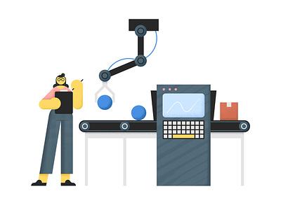 YayPay Illustrations digital illustration bold tech app character spot illustration geometric illustration vector