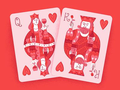 V-day Cards Illustration brush pen vector digital illustration pattern character illustration