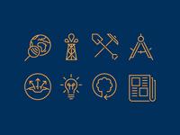 Geophysics Icons