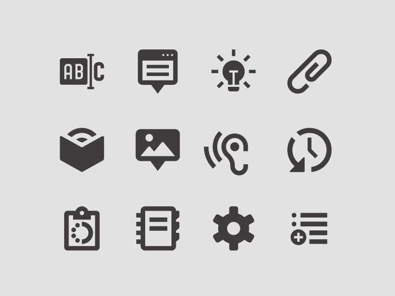 Safari Books System Icons website ui vector pictograms iconography icons