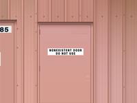 Nonexistent Door