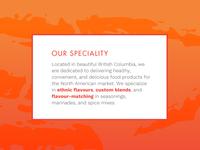 Description for Ethnic Spice Company