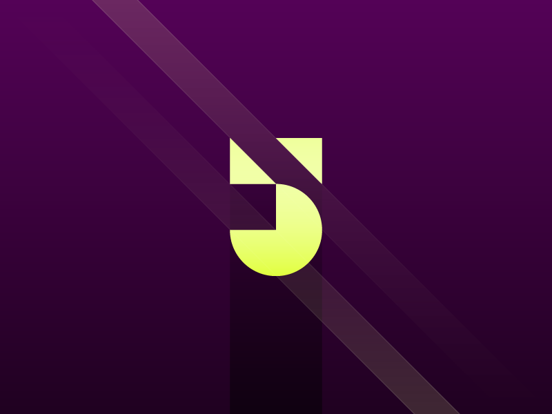 5 color minimal illustration typography