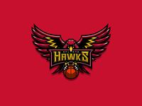 NBA logos redesign - Atlanta Hawks Extra 01
