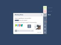 #065 Notes Widget