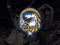 NBA logos redesign - Dallas Mavericks nowitzki sports branding sports logo logo basketball nba mavericks dallas mavericks dallas