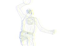 KD gsw golden state warriors illustration nike kd kevin durant nba sports basketball