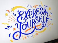 Express Yourself Poster