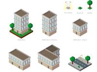 Isometrics Elements City