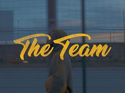 The Team basketball art director film