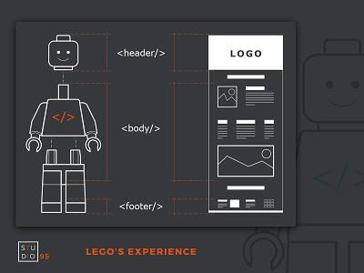 Lego's Experience ui  ux design ux ui logo illustration design photoshop illustrator