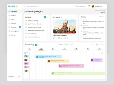 Dashboard Design user experience my dashboarrd project planning dashboard design colors user interface visual design experiment uiux ui