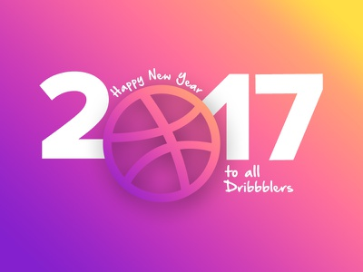 2017 new year colors experiment 2017