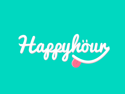 Weekend Hour is Happy Hour fun weekend experiment colors typography
