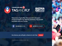 Tag&Fly Landing Page
