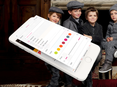 Kids Clothing Store iOS application