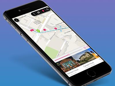 Urban Guide Travel App (UK Based)  uk london travel guide tour guide iphone app ios app mobile app travel app