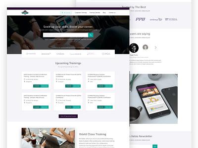 Xebia Trairning Website education training website
