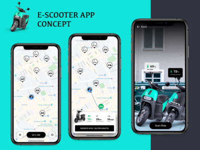 escooter app concept