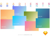 32 Gradients For Web/UI